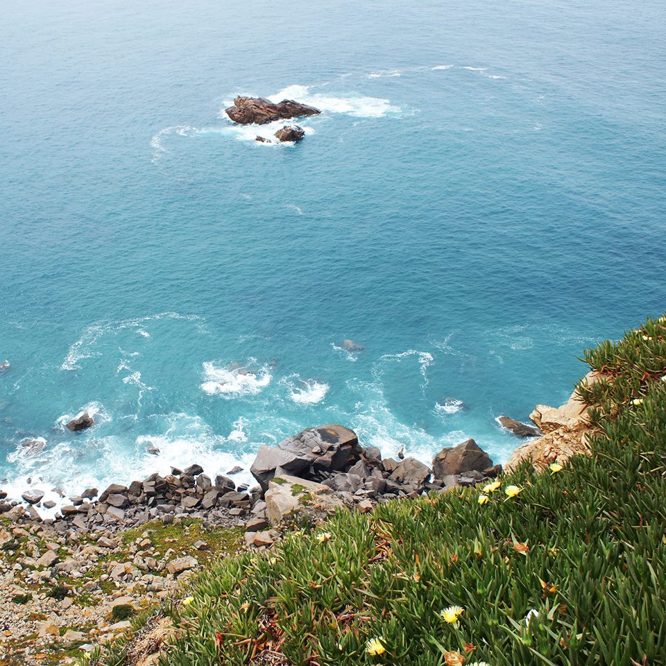 Кабу де Рока: вид со скалы