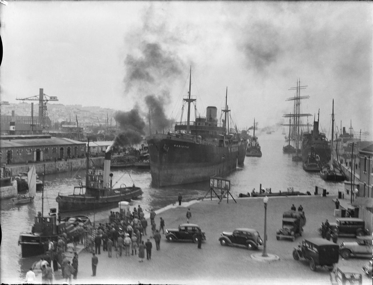 порт Алькантара в мае 1941 года