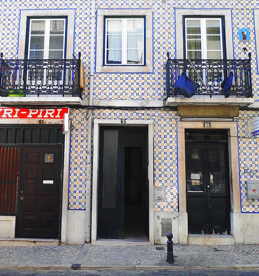 rua da Gloria, 63