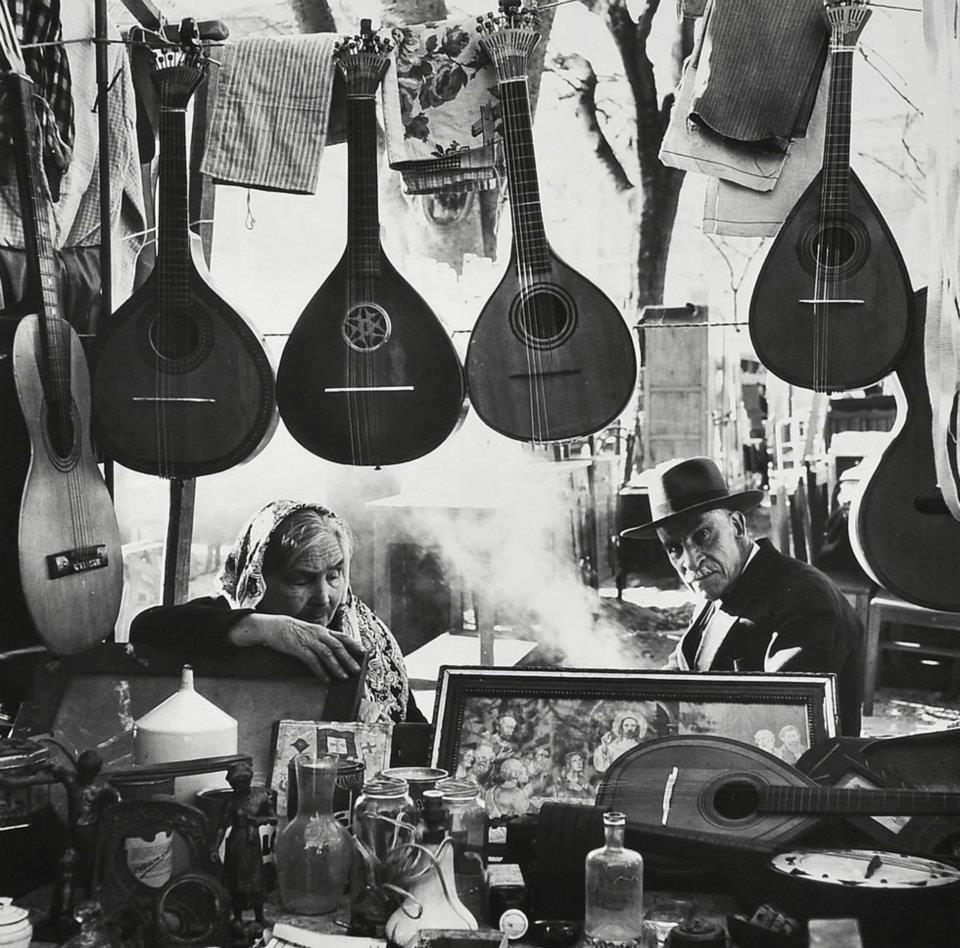 блошиный рынок Фейра да Ладра. 1966 год. Eduardo Gageiro