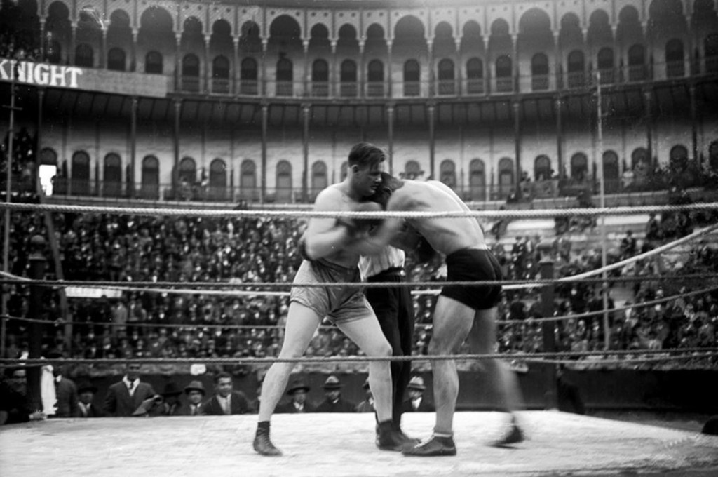 боксерский турнир на Кампу Пекену. 1931 год.