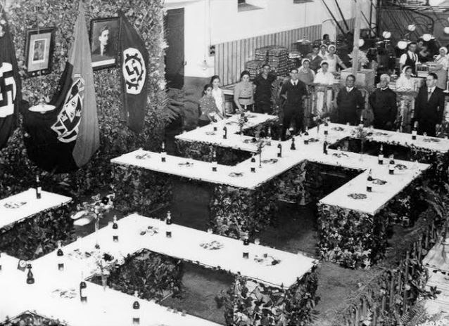 визит немцев на консервную фабрику в Сетубале. 1938 год.