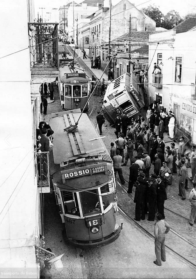 авария трамваев.
